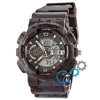 Наручные мужские часы Casio G-Shock GA-110 G Military Dark Gray