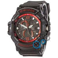 Наручные мужские часы Casio G-Shock GWA-1045 Black-Red