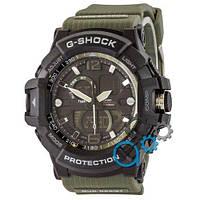 Наручные мужские часы Casio G-Shock GWA-1045 Black-Militari Wristband
