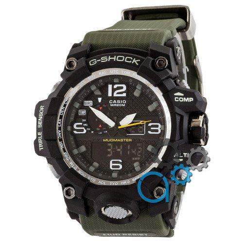Наручные мужские часы Casio G-Shock GWG-1000 Black-Militari Wristband New