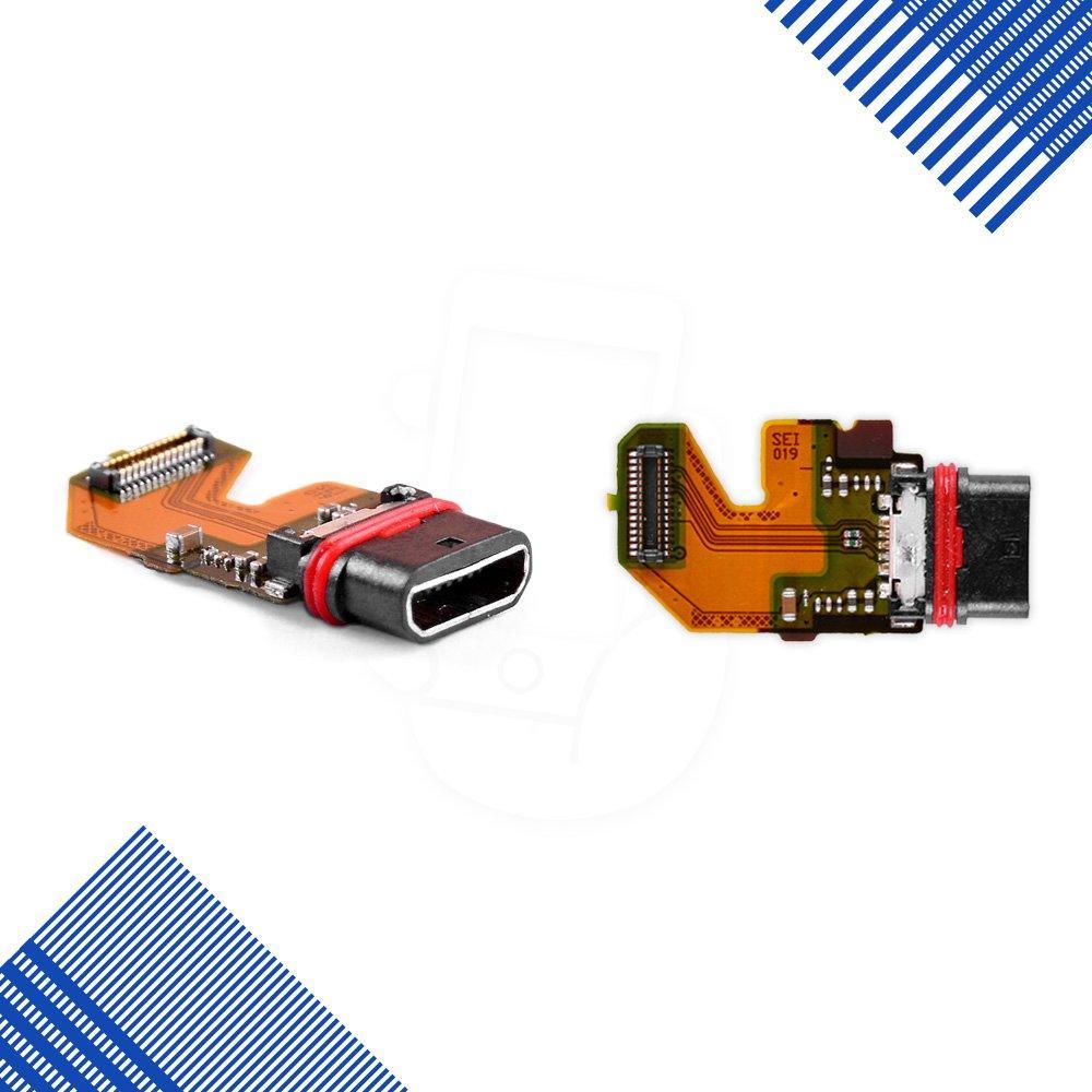 Шлейф Sony Xperia Z5 E6603, E6653, E6683 с разъемом зарядки