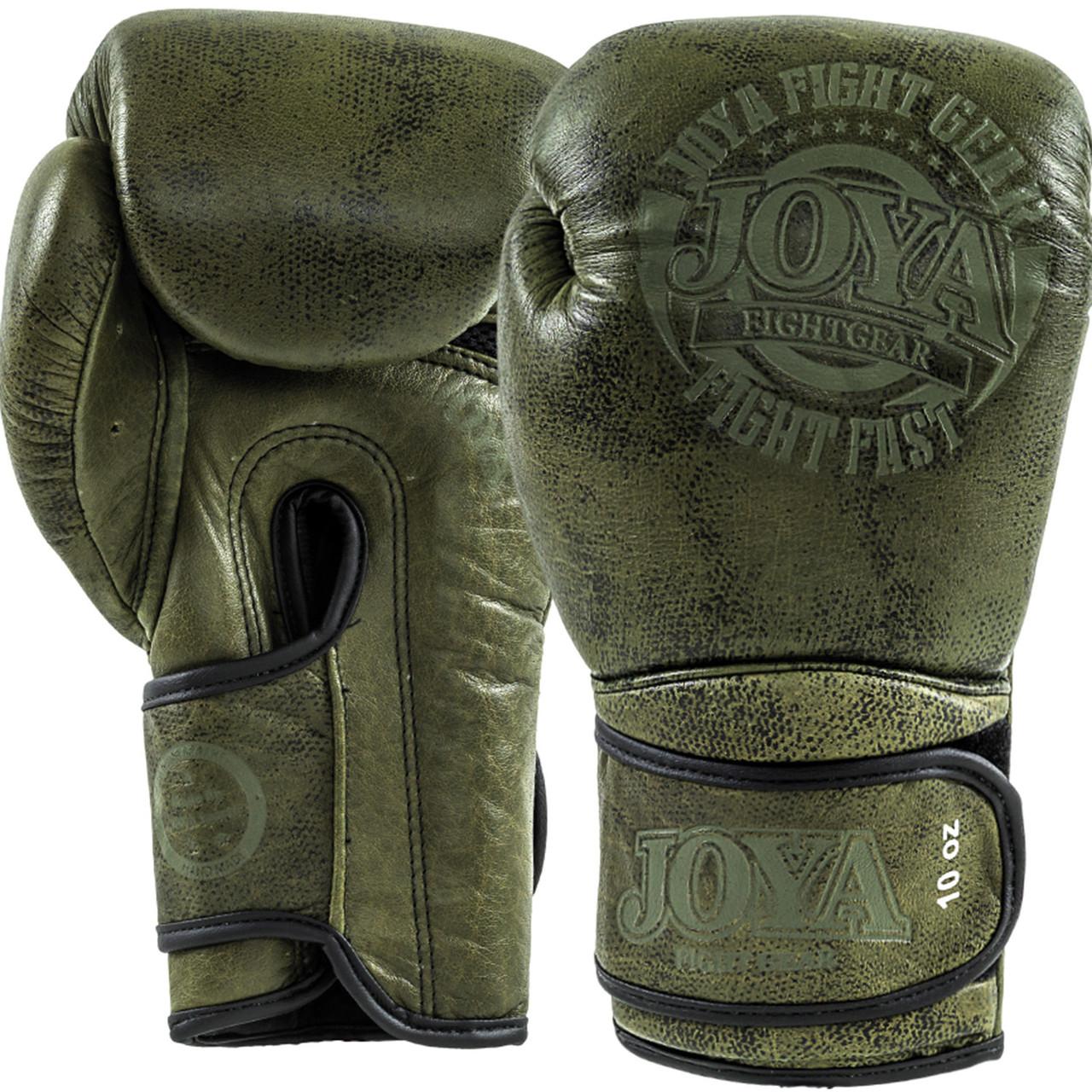 Перчатки Joya Fight Fast Green 12 oz