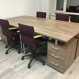 Письменный стол L-27 дуб борас