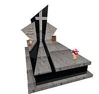 """Пам'ятник гранітний елітний """"Промені"""" L0153, фото 1"""