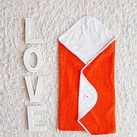 Двухсторонний вязаный конверт-одеяло в коляску. Эксклюзив., фото 1