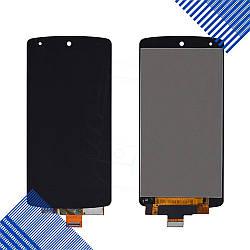 Дисплей (экран) LG Google Nexus 5 D821 (D820, D822) с тачскрином в сборе, цвет черный