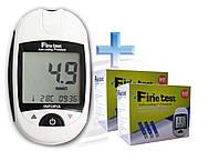Infopia Глюкометр Fine test Auto-coding Premium + 100 т/п