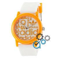 Наручные мужские часы Adidas Orange-White Silicone