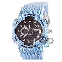 Наручные мужские часы Casio Baby G GA-110 Jeans Light-Blue
