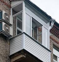 Остекление балкона в сталинке 2 м