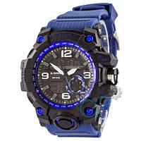 Наручные мужские часы Casio G-Shock GG-1000 Black-Blue Wristband