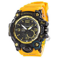Наручные мужские часы Casio G-Shock GG-1000 Black-Yellow Wristband