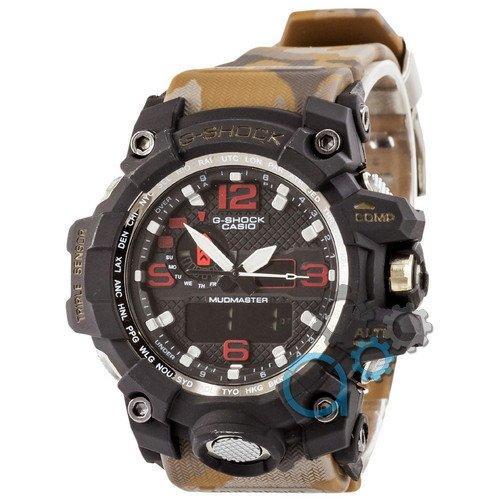 Наручные мужские часы Casio G-Shock GWG-1000 Black-Brown Militari Wristband New