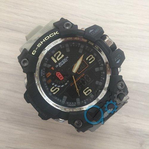 Наручные мужские часы Casio G-Shock GWG-1000 Black-Khaki Militari Wristband New