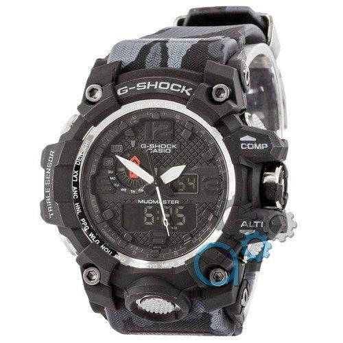 Наручные мужские часы Casio G-Shock GWG-1000 Black-Dark Gray Militari Wristband New