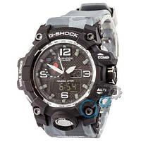 Наручные мужские часы Casio G-Shock GWG-1000 Black-Gray Militari Wristband New