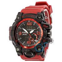 Наручные мужские часы Casio G-Shock GG-1000 Black-Red Wristband