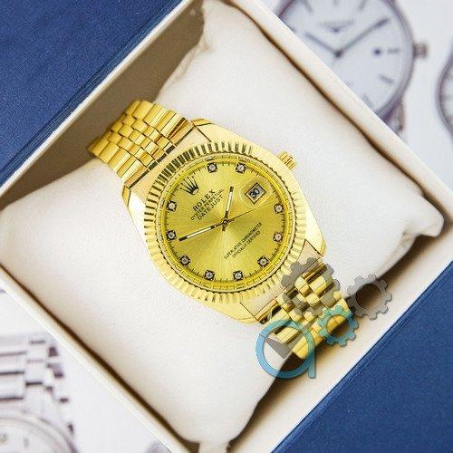 Наручные женские часы Rolex Date Just Gold
