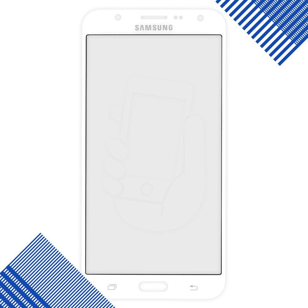 Стекло корпуса для Samsung J710 Galaxy J7, цвет белый