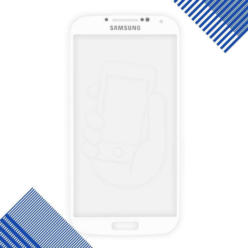 Стекло корпуса для Samsung i9500, 9505, цвет белый