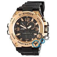 Наручные мужские часы Casio G-Shock GLG-1000 Black-Cuprum