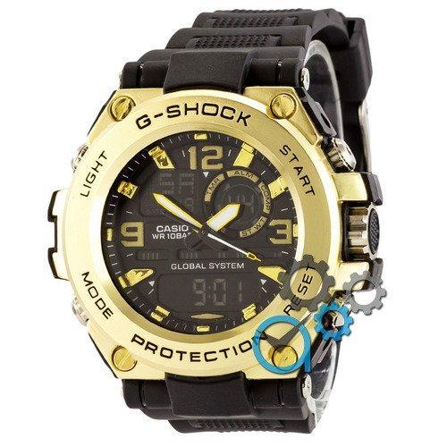 Наручные мужские часы Casio G-Shock GLG-1000 Black-Gold