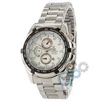 Наручные мужские часы Casio Edifice Silver-Black-White