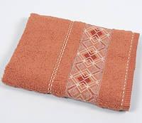 Полотенце махровое Binnur - Vip Cotton 07 50*90 оранжевый