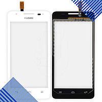 Тачскрин Huawei G510, G520, G525 Ascend, цвет белый