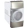 Индикатор бесцветный 1-модульный Алюминий Schneider Electric Unica (MGU3.775.30T)