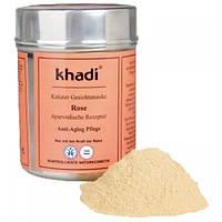 Khadi Растительная маска для лица Khadi «Rose» Anti-Aging (50 г)