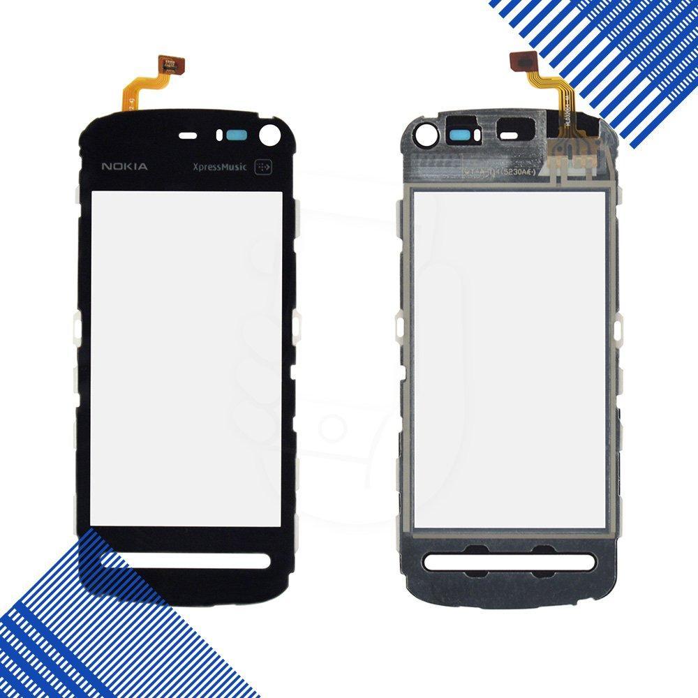 Тачскрин Nokia 5800, цвет черный