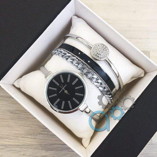Наручные женские часы Anna Klein Silver-Black