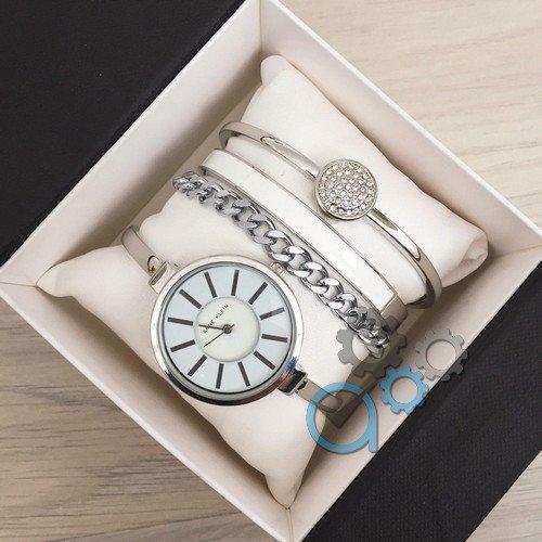 Наручные женские часы Anna Klein Silver-White