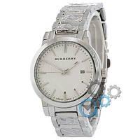 Наручные мужские часы Burberry B32 Silver-White