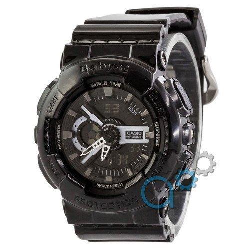 Наручные мужские часы Casio Baby-G GA-110 Black-White