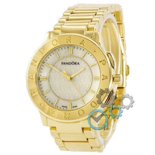 Наручные женские часы Pandora 6028 Gold-White