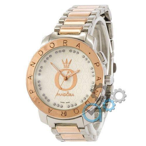 Наручные женские часы Pandora 7168 Silver-Cuprum-White