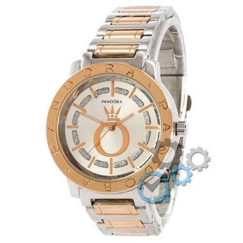 Наручные женские часы Pandora 6301 Silver-Cuprum-White