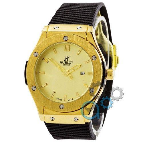 Наручные мужские часы Hublot Classic Fusion Black-Gold