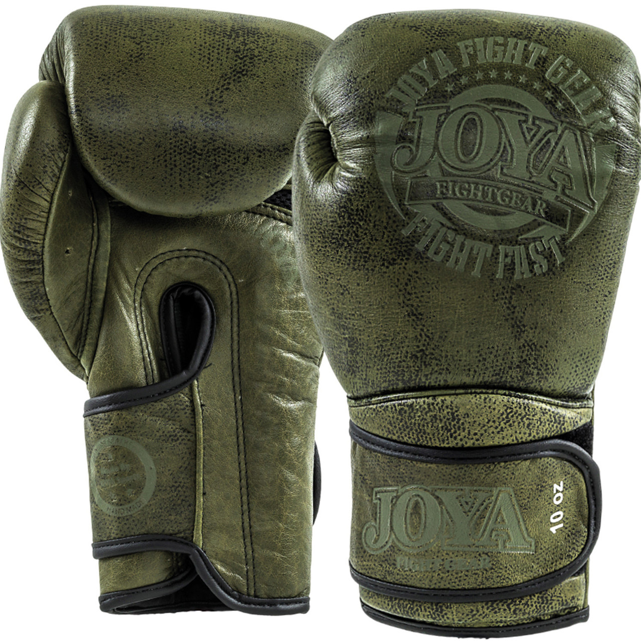 Перчатки Joya Fight Fast Green 14 oz