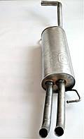 Задний глушитель Шкода Октавия Тур 1,6 бензин 1j5253609c SkodaMag Польша, фото 1
