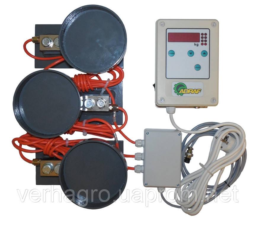 Электронные весы комбикормовой установки