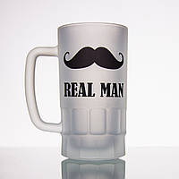 Пивной бокал REAL MAN