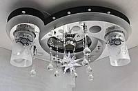 Люстра потолочная Космос с цветной Led подсветкой и автоматическим отключением YR-5533/31, фото 1