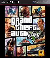 Игра Grand Theft Auto V (GTA 5) (PS3, русские субтитры)