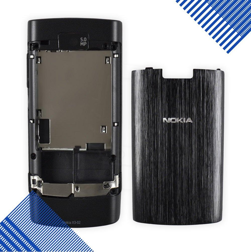 Корпус Nokia X3-02, цвет черный