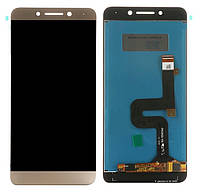 LCD екран + Touchscreen(Модуль) Leeco Le Pro 3 X720 Золотий.