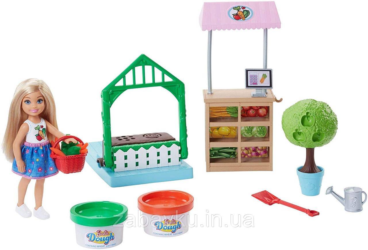 Набір Челсі та овочева грядка Barbie Chelsea Doll & Veggie Garden Playset