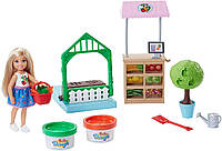 Набір Челсі та овочева грядка Barbie Chelsea Doll & Veggie Garden Playset, фото 1